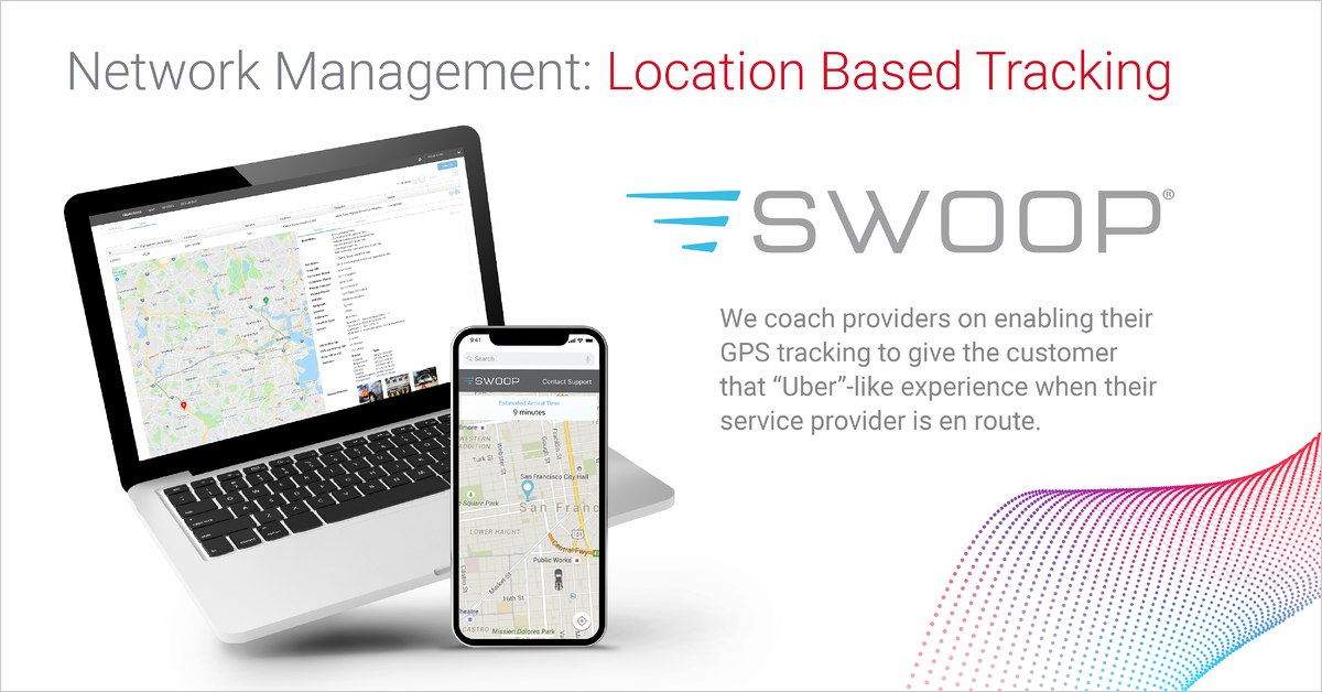 Network Management: Location Based Tracking by Agero's Swoop Platform